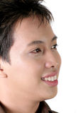 Asian Male Looking Royalty Free Stock Image