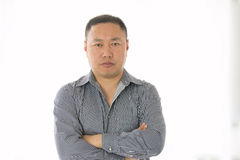 Asian male portrait Stock Image