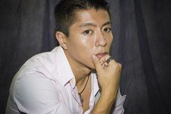 Asian Male Portriat Royalty Free Stock Photography