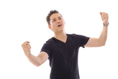 asian man with arms out Royalty Free Stock Photos