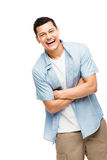Asian man attractive happy student Stock Image
