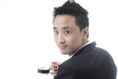 Asian man business Royalty Free Stock Photos