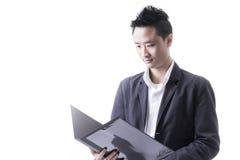 Asian man business Stock Image