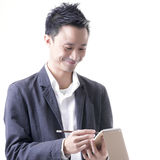 Asian man business Royalty Free Stock Photo