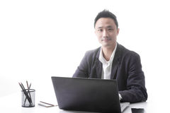 Asian man business Royalty Free Stock Photography
