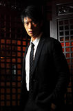 Asian Man In Business Suit Stock Image