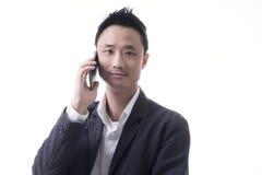 Asian man business Stock Photo