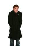 Asian man in coat Stock Photos