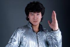 Asian man emotion portrait Royalty Free Stock Image