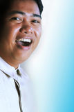 Asian man expression stock photo