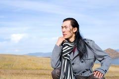 Asian man of fashion Stock Photography
