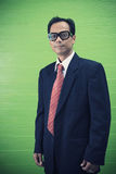 Asian man forty one year old in business suit Stock Photography