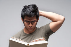 Asian Man with glasses Stock Photos