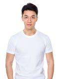 Asian man. Isolated on white background Stock Image