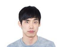 Asian man - isolated on white background Royalty Free Stock Photos