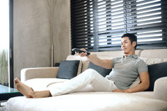 Asian Man Lifestyle Royalty Free Stock Photos