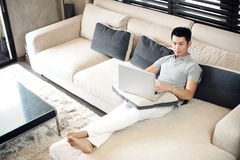 Asian Man Lifestyle Stock Photo