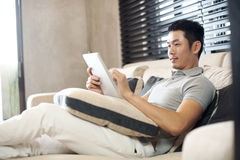 Asian Man Lifestyle Royalty Free Stock Images