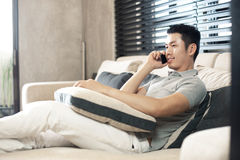 Asian Man Lifestyle Stock Photography