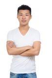 Asian man portrait Royalty Free Stock Photos