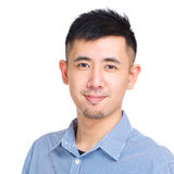 Asian man portrait Royalty Free Stock Image
