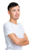 Asian man portrait Royalty Free Stock Photos