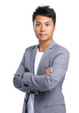 Asian man portrait Royalty Free Stock Photo