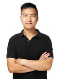 Asian man portrait Stock Image