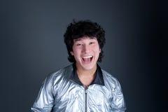 Asian man positive emotion. Portrait Stock Images