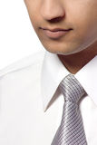 Asian man in shirt and tie Royalty Free Stock Photos