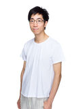 Asian man with smart casual wear Royalty Free Stock Photography