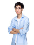Asian man with smart causal wear Stock Image
