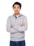Asian man smile Royalty Free Stock Photo
