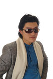 Asian man in sunglass Royalty Free Stock Image