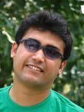 Asian man with sunglasses Stock Photos