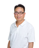 Asian man wearing glasses Royalty Free Stock Photo