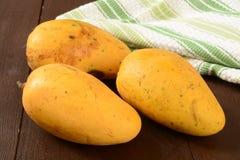 Asian mangoes Stock Photo