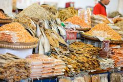 Asian market Stock Image