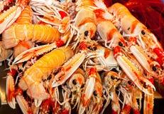 Asian market foods. Asian food market in Ho Chi Min aka Saigon Vietname Royalty Free Stock Images