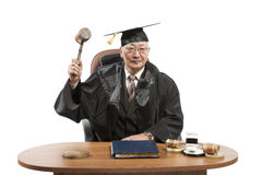 Asian mature judge Stock Photos