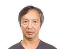 Asian mature man Stock Photo