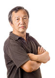 Asian mature man Stock Photos