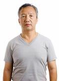 Asian mature man Stock Photography