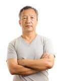 Asian mature man Royalty Free Stock Photos