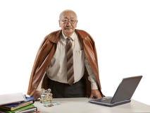 Asian mature men businessman Royalty Free Stock Photography