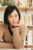 Asian mature woman Royalty Free Stock Images