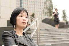 Asian mature woman Royalty Free Stock Photography
