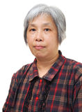 Asian mature woman Stock Photo