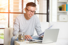 Asian matured male Royalty Free Stock Photography