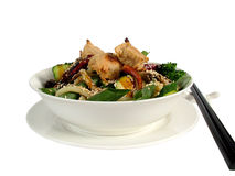 Asian meal in a bowl Royalty Free Stock Photo